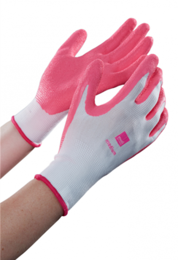 Medi textile donning gloves